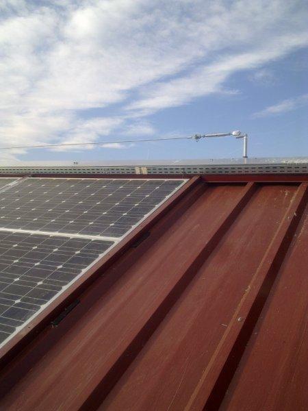 Impianto fotovoltaico 102 kW - 2011