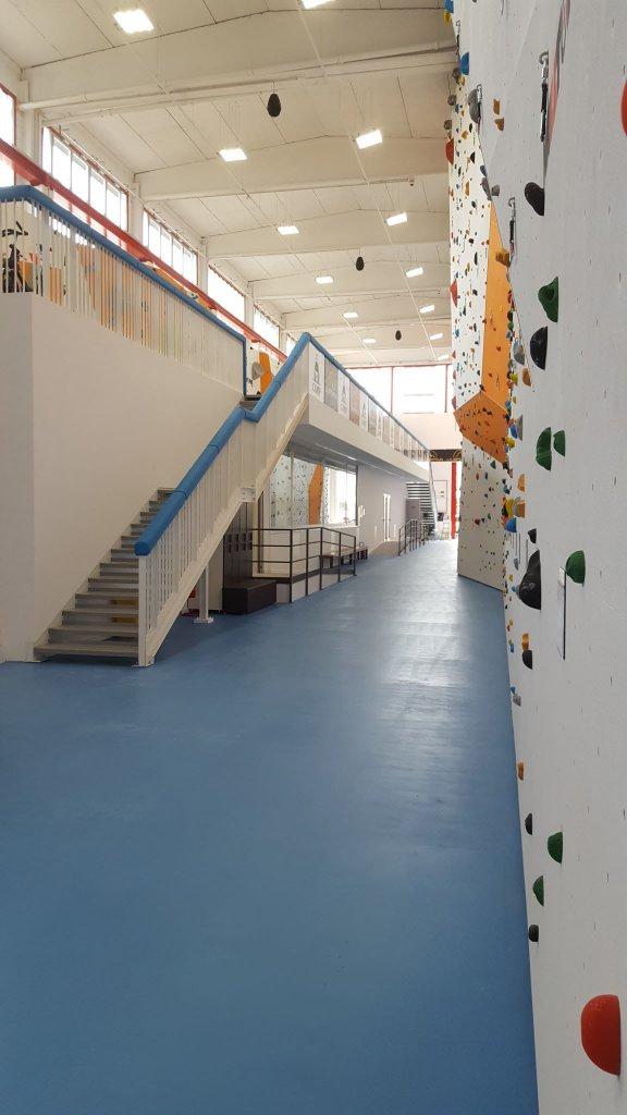 Nuova palestra di arrampicata a San Zeno Naviglio - 2016 - Realizzato